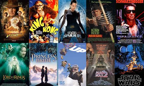 film adventure recommended top 10 best action adventure movies