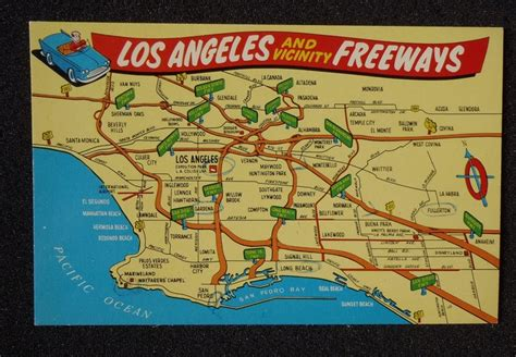 map of los angeles with freeways map of los angeles freeways places i ve been