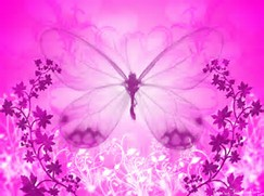 Girly Wallpaper Pink Butterfly