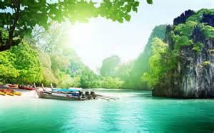 Beautiful lake landscape hd wallpaper
