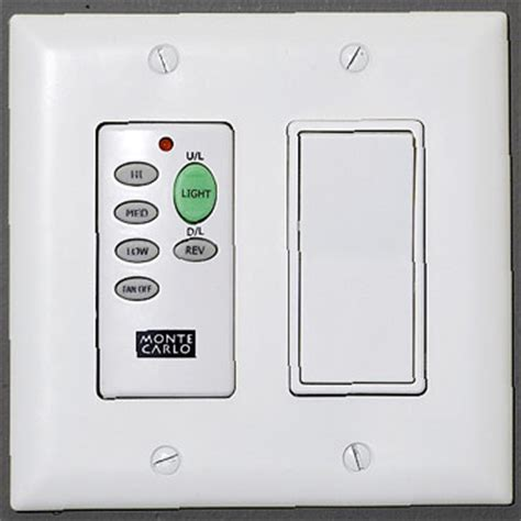 remote fan light switch combination switches unswitched toggle remote