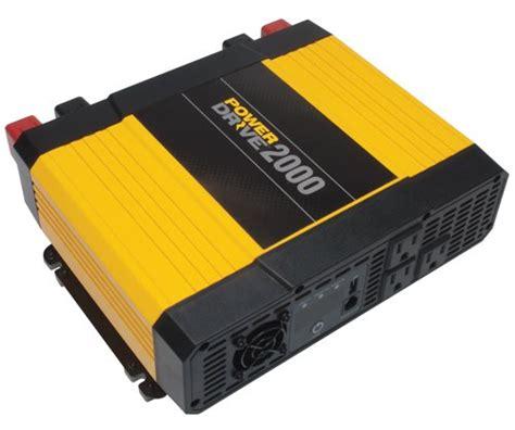 best 2000 watt inverter powerdrive rppd2000 2000 watt dc to ac power inverter with