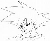 Dragon Ball Z Goku Para Dibujar
