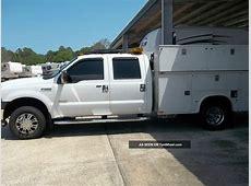 2006 Ford F350sd 4x4 Drw Crew Cab Utility Body Service ... 2012 Dodge Ram 2500 Gvw