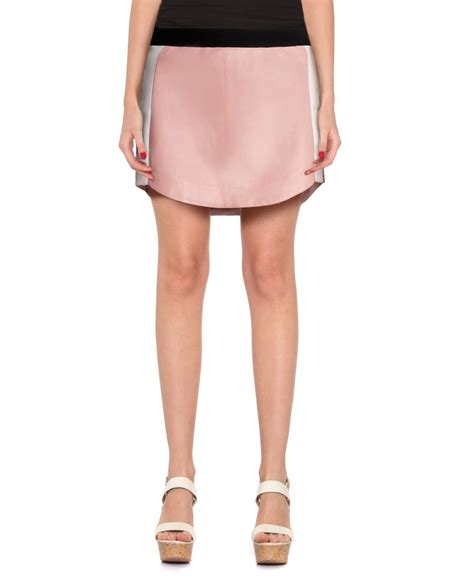 pink leather skirt for at leatherright