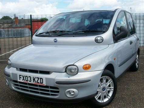 Fiat Multipla history, photos on Better Parts LTD