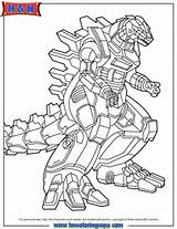 Godzilla Robot Coloring Page | H & M Coloring Pages