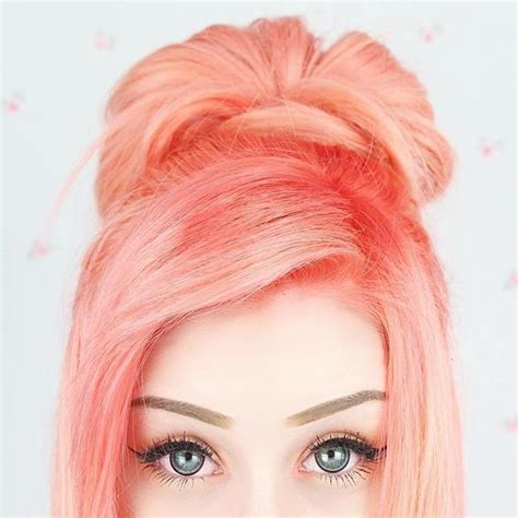 coral hair color best 25 pastel coral hair ideas on coral hair