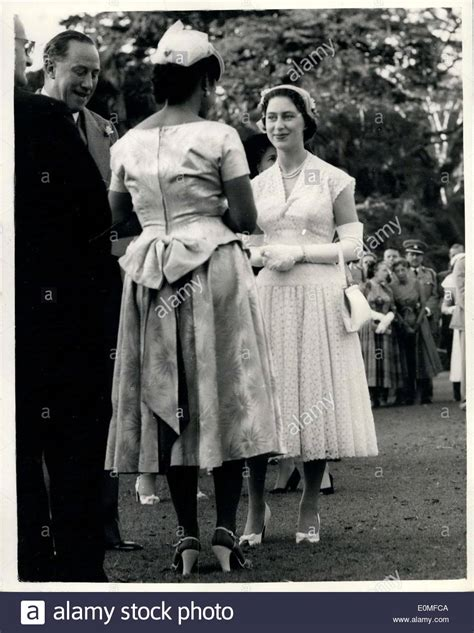 princess margaret party feb 07 1955 princess margaret at trinidad garden party