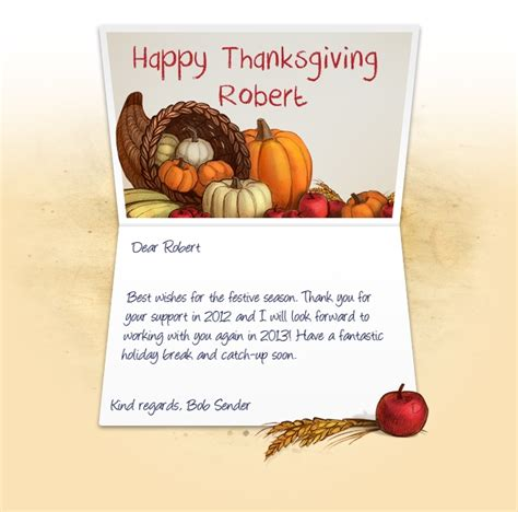 Thanksgiving Greeting Cards For Business Template by Business Greeting Cards For Thanksgiving Images Card
