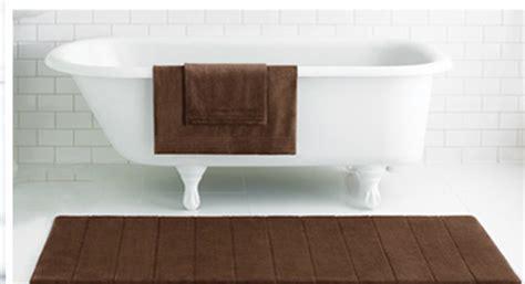Memory Foam Bath Mat Runner by Quot Microdry Quot Runner 24 Quot X57 Quot Memory Foam Bath Mat Purple Ebay