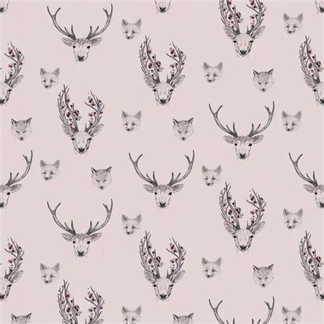 deer pattern iphone wallpaper deer pattern deer pinterest