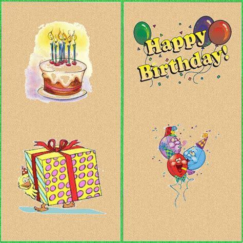 printable card happy birthday happy birthday printable cards slim image