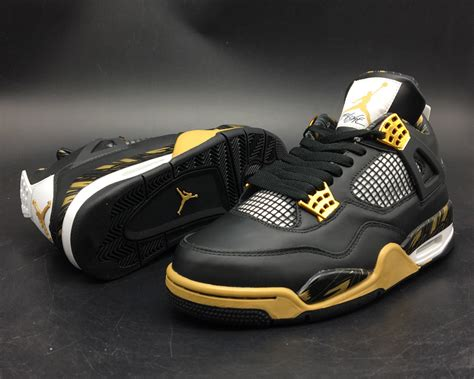 Air 4 Wings 2017 air 4 wings black gold for sale cheap jordans 2017