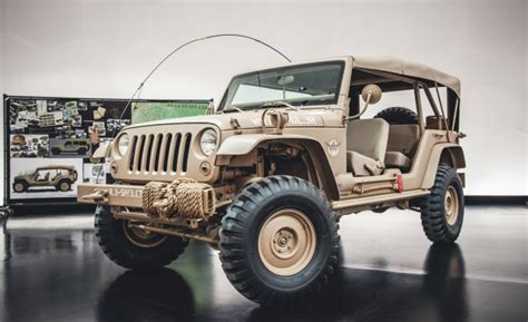 Jeep Concept Car Fall In And Salute This Ridiculously Awesome Jeep Staff