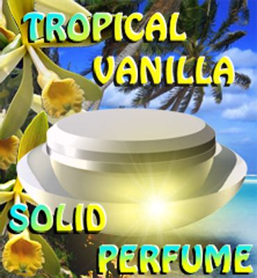Pheromones By Lal liquid alchemy labs tropical vanilla solid pheromone