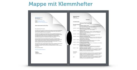 Bewerbungsmappe Einordnen Bewerbungsmappe Das Sind Vollst 228 Ndige Unterlagen Karrierebibel De