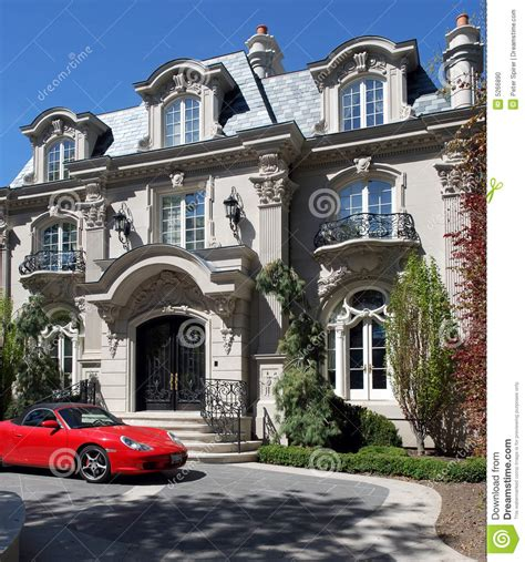 Chateau House Plans french baroque chateau stock photo image 5266890