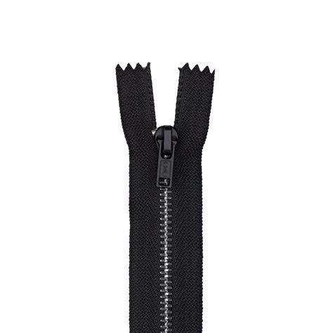 Zipper Big 6 Hitam metal all purpose zipper 14 quot black discount designer fabric fabric