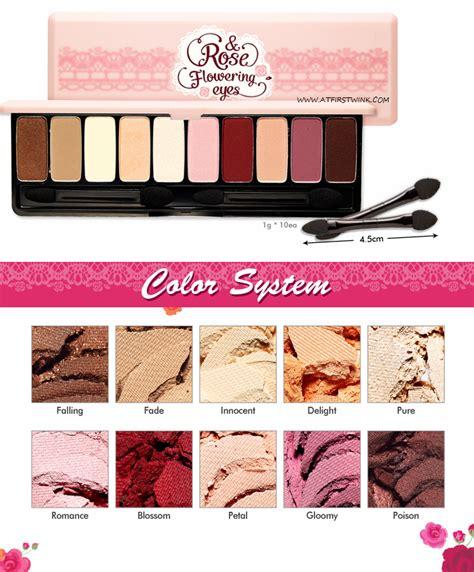 Eyeshadow Etude House finally released the etude house makeup collection