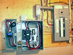 connect generator to house panel without transfer switch