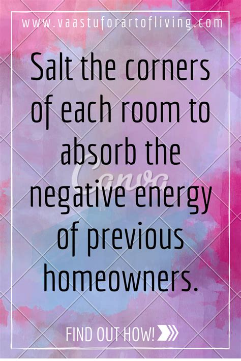 how to cleanse your room of negative energy powerful salt remedy for clearing the negative energy of the past owners from your house