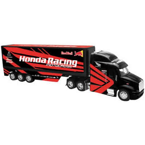 hondas toys and trucks honda racing team big rig crfs only your source for