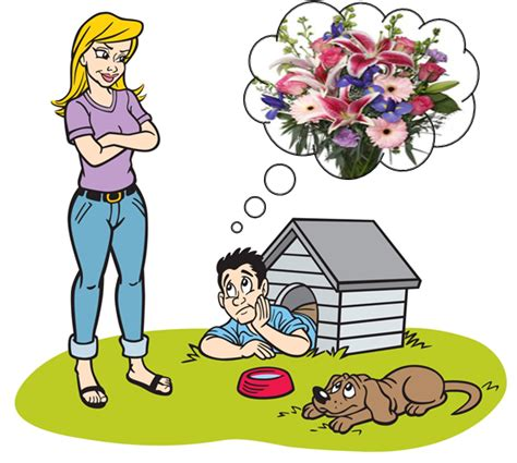 out of the dog house get out of the doghouse with beautiful fresh cut flowers from dragonfly flowers