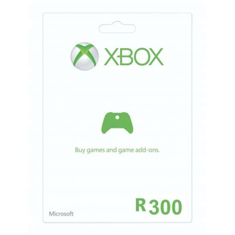 Xbox Live Points Gift Card - r300 xbox live gift card cheapcodes