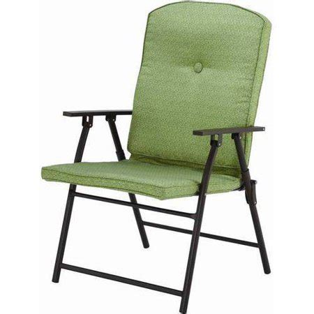 mainstays outdoor padded folding chairs set of 2 - Folding Outdoor Chairs Walmart