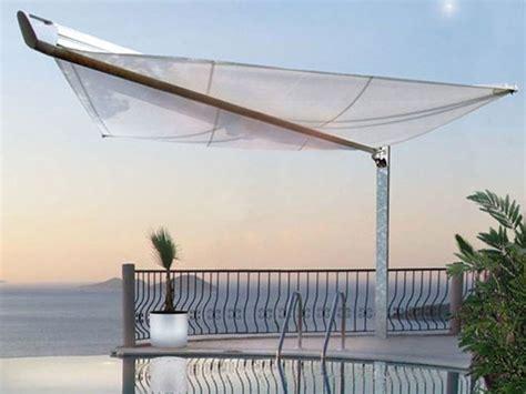 Tenda Parasol motorized shade sail boom by hella