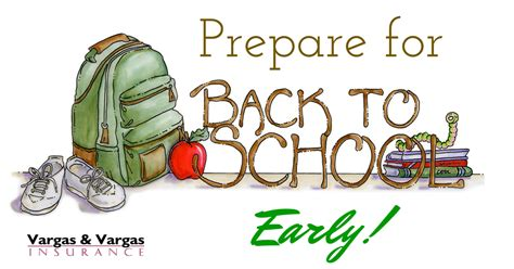 7 Ways To Prepare For Back To School by Prepare For Quot Back To School Quot Early Vargas