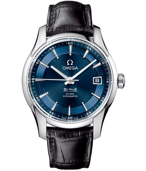 new omega watch reviews the omega de ville hour vision blue
