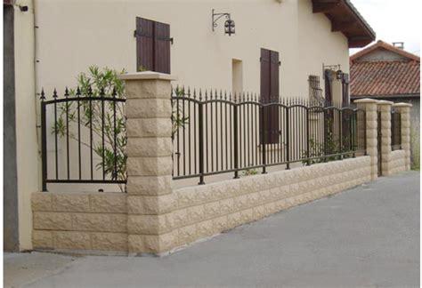 Cloture Fait Maison by Grille Cl 244 Ture En Fer Forg 233 Ext 233 Rieur Jardin Villa