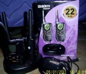 Walkie Talkie Branded Uniden Gmr 2200 22km walkie talkie uniden gmr2200 2ck upto 22km semarang wireless