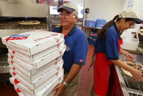domino pizza career let in more migrants for jobs britons don t want says