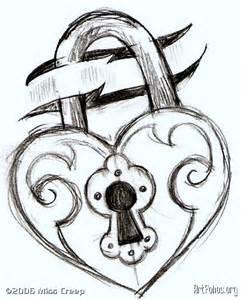 Heart lock tattoo on pinterest heart locket tattoos lock tattoo and