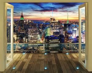Walltastic Wall Murals walltastic fototapete new york skyline bei nacht