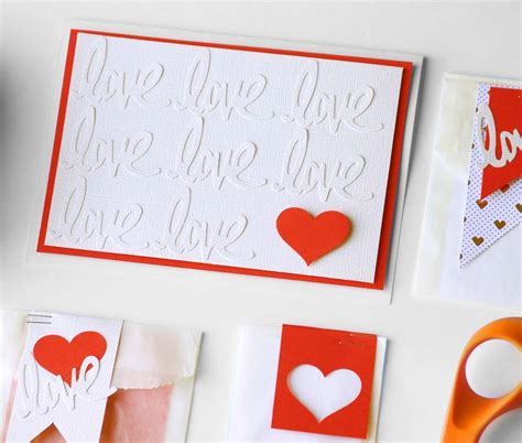 Handmade Valentines Cards Ideas - handmade valentines day ideas simple handmade valentines