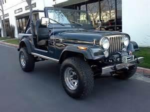 Jeep Wrangler Cj8 Find Used Jeep Cj7 Wrangler Efi Renegade Cj 7 Not Cj8 Cj5