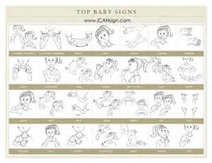 Baby sign language sign language chart and sign language for babies