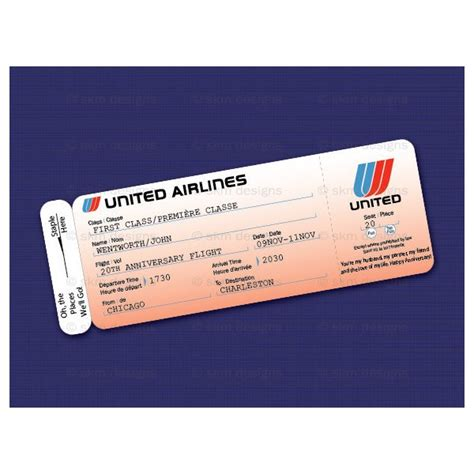 flight ticket template gift 17 best images about airline design on
