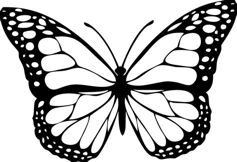 butterfly pattern png butterfly 1 black icons png free png and icons downloads