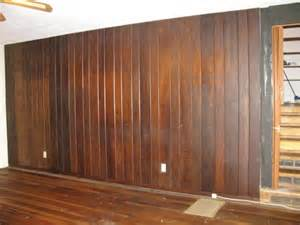 Dark Wood Wall Paneling need ideas for a dark wood paneled wall in living room