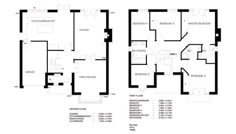 easy floor plan simple blueprints with measurements and superb simple
