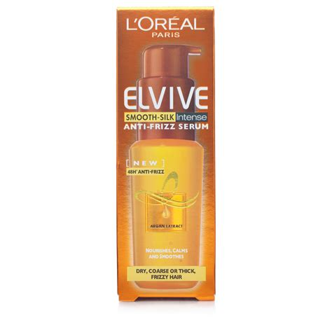 Harga L Oreal Smooth Anti Frizz Serum l or 233 al elvive anti frizz serum smooth hair care