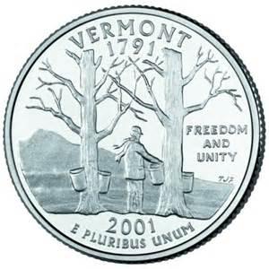 The Quarters Vermont State Quarter