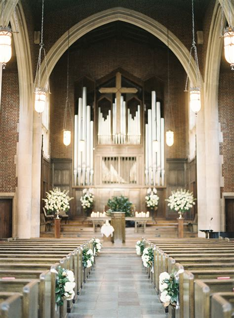 Wedding Aisle Organ by Timeless Black Tie Wedding In Nashville Nashville