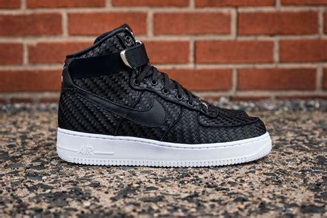 Nike Air Fprce 1 nike air 1 high lv8 woven sneaker hypebeast
