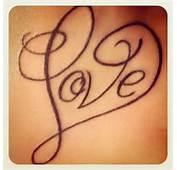 See More Love Writing Tattoos Idea
